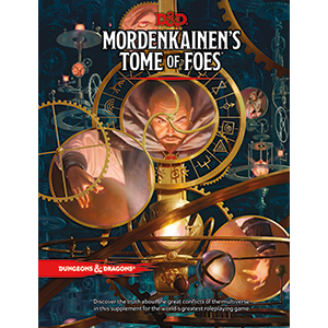 Dungeons & Dragons RPG: 5E Mordenkainen's Tome of Foes (regular edition)