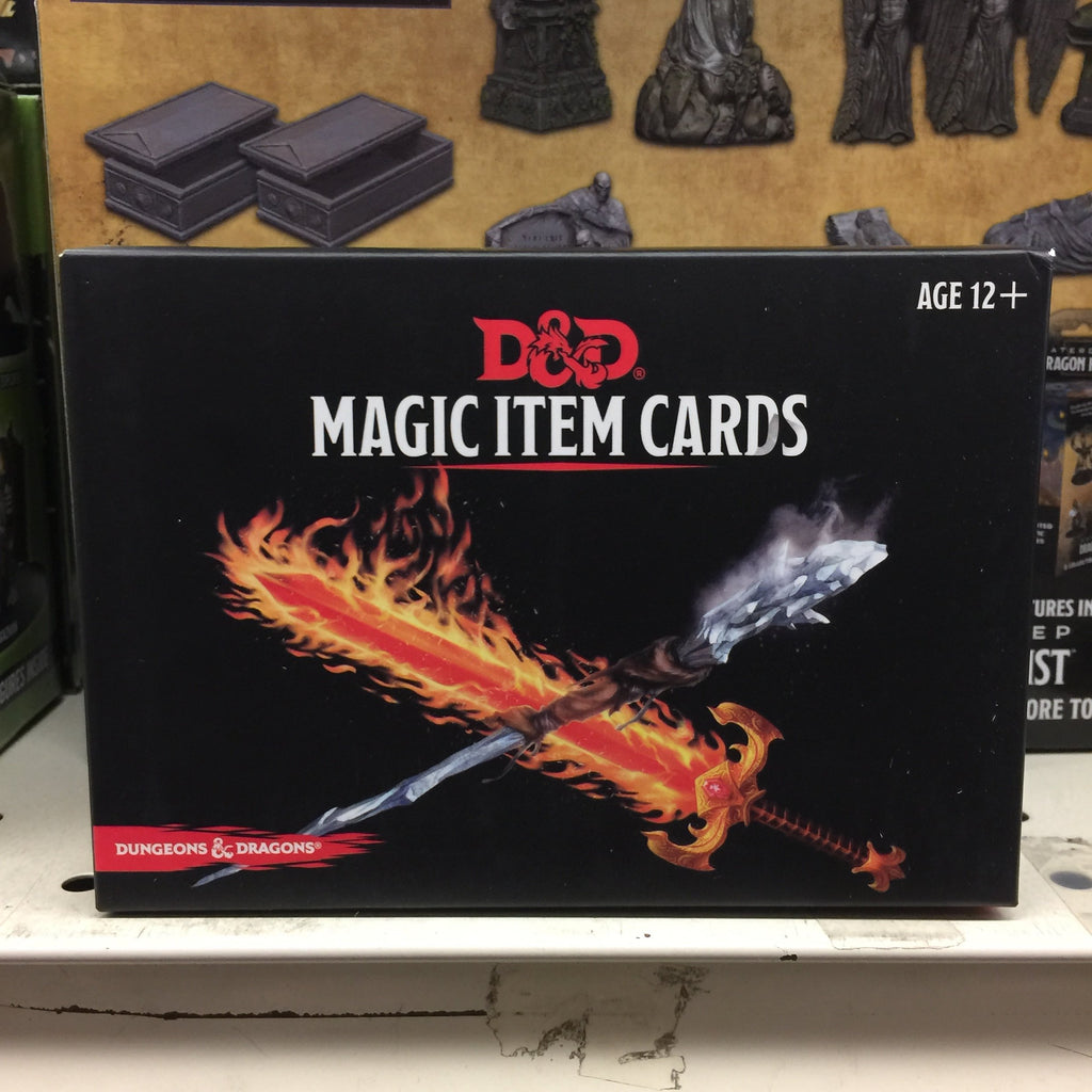 Dungeons & Dragons RPG: Magic Item Cards
