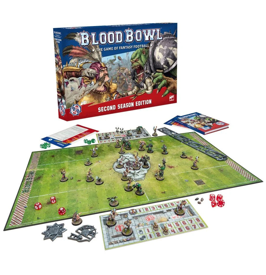 Blood Bowl:  The Game of Fantasy Football Second Season Edition (Preorder)
