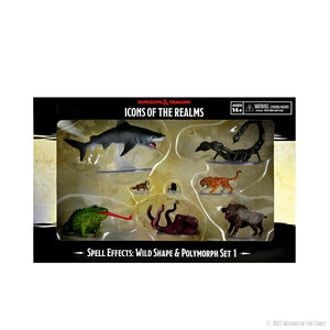 Dungeons & Dragons Icons of the Realms: Wild Shape & Polymorph Set 1