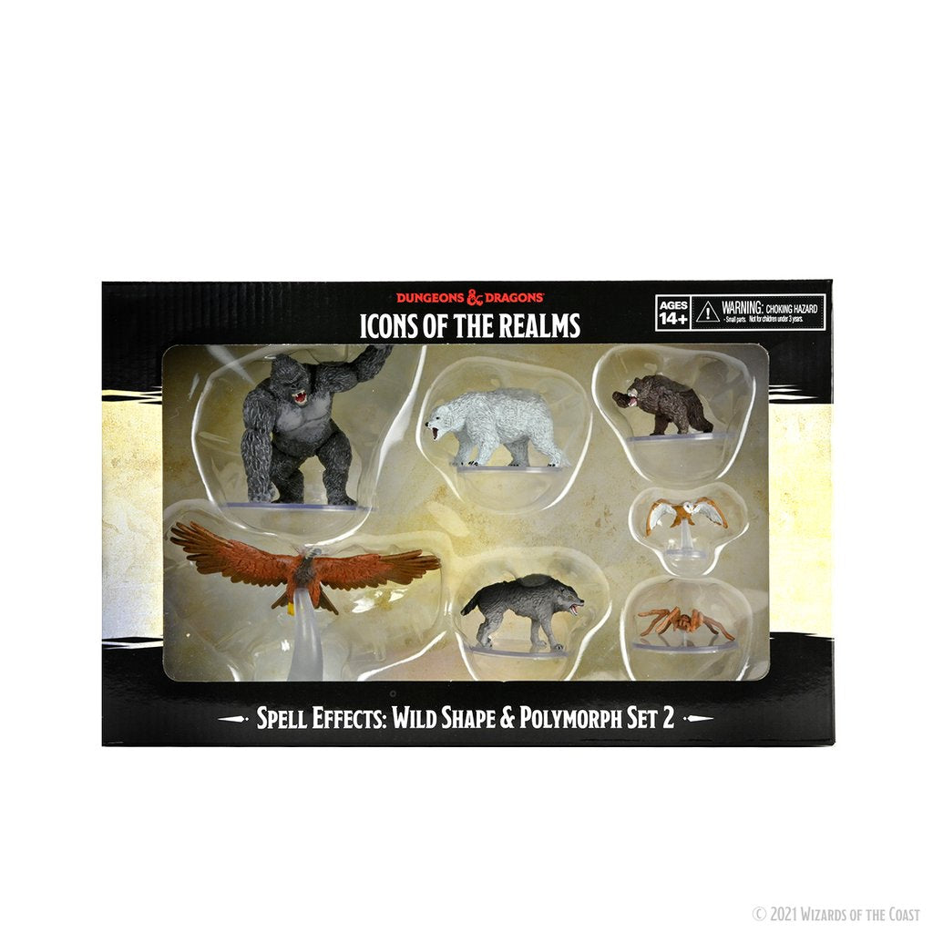 Dungeons & Dragons Icons of the Realms: Wild Shape & Polymorph Set 2