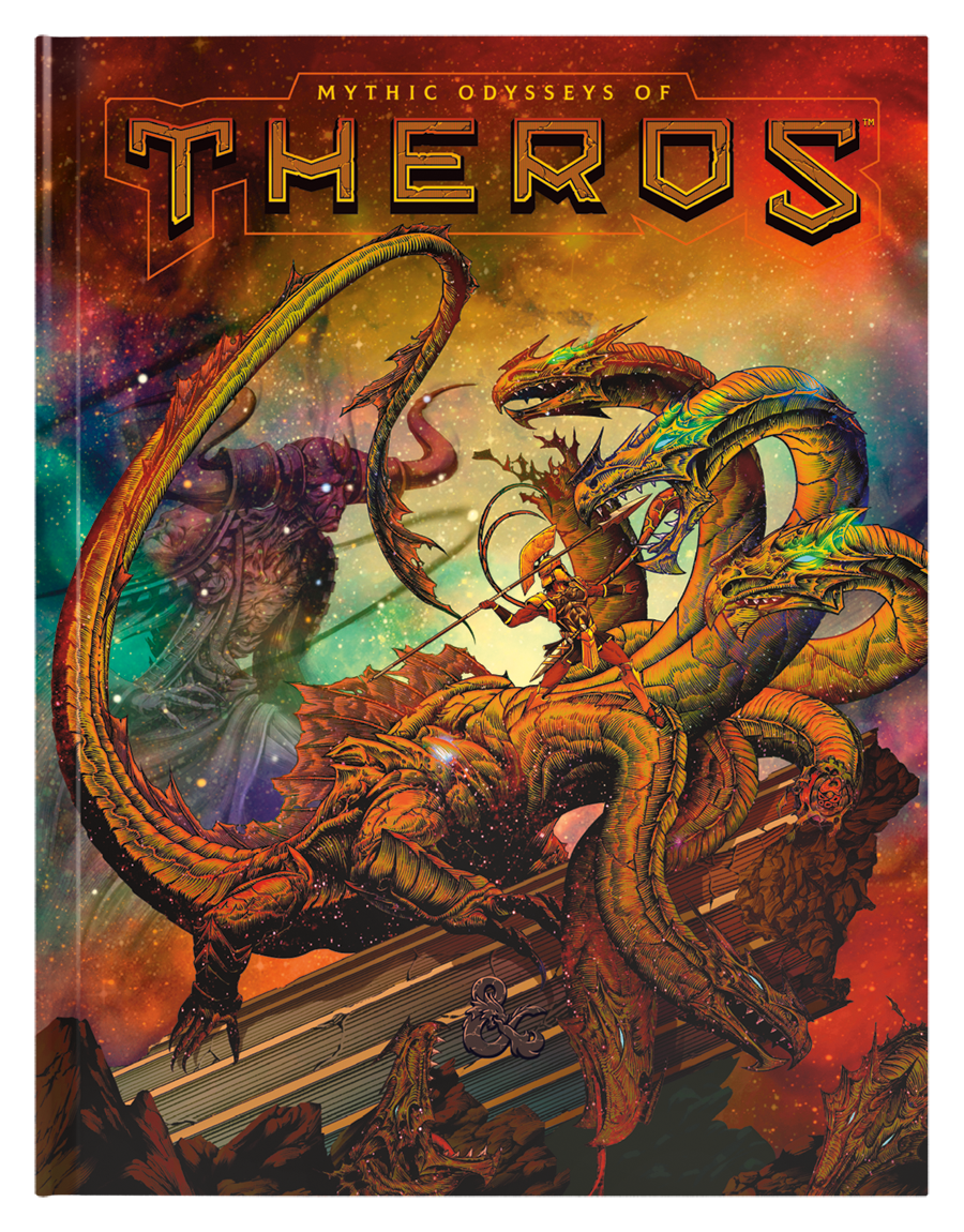Dungeons and Dragons RPG: Mythic Odysseys of Theros (preorder) (free shipping or pick-up)