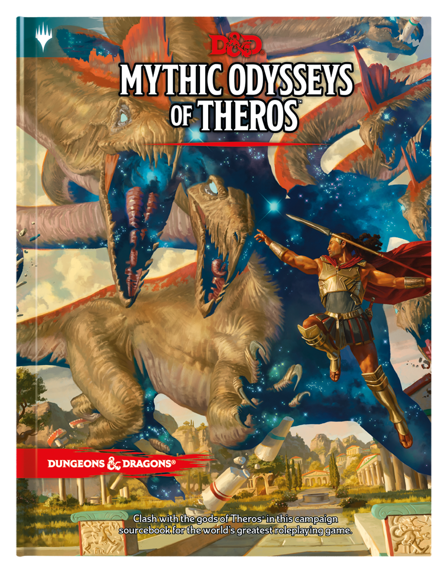 Dungeons and Dragons RPG: Mythic Odysseys of Theros