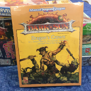 Dark Sun Dragon's Crown Vintage Dungeons and Dragons item