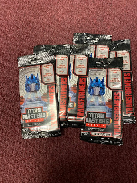 Transformers TCG: Titan Masters Attack Booster
