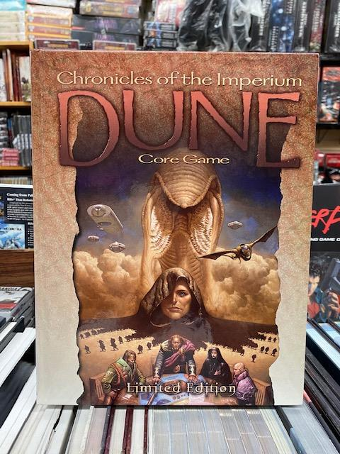 Dune: Chronicles of the Imperium Core Game Limited Edition