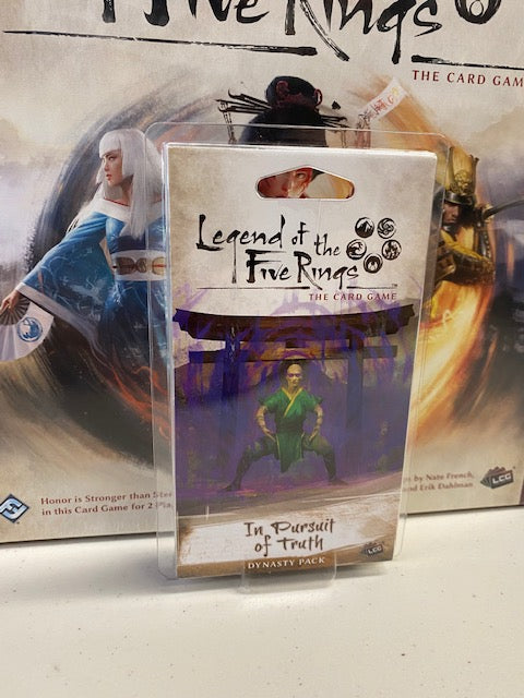 Legend of the Five Rings TCG: In Pursuit of Truth Dynasty Pack