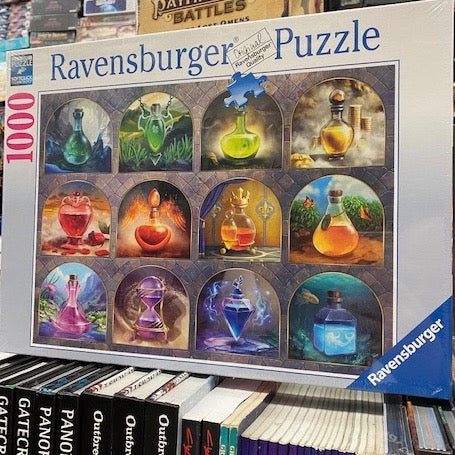 Magical Potions 1000 Piece Jigsaw Puzzle