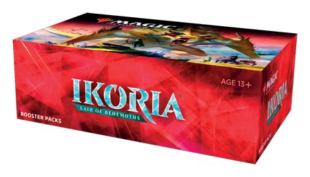 Magic the Gathering CCG: Ikoria - Lair of Behemoths Buy-a-Box Promo
