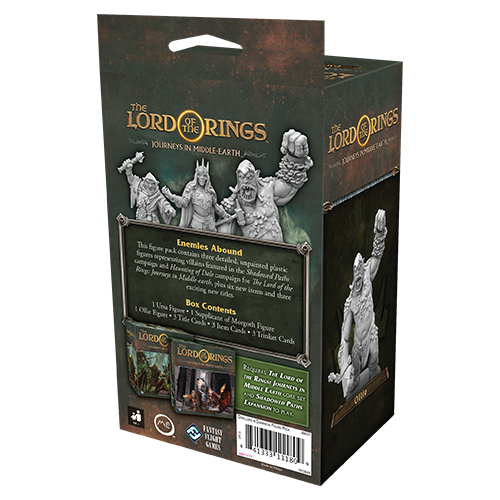 LotR Journeys in Middle-earth: Dwellers in Darkness Figure Pack