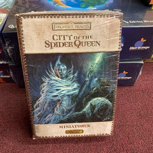 Dungeon & Dragons Miniatures: City of the Spider Queen set