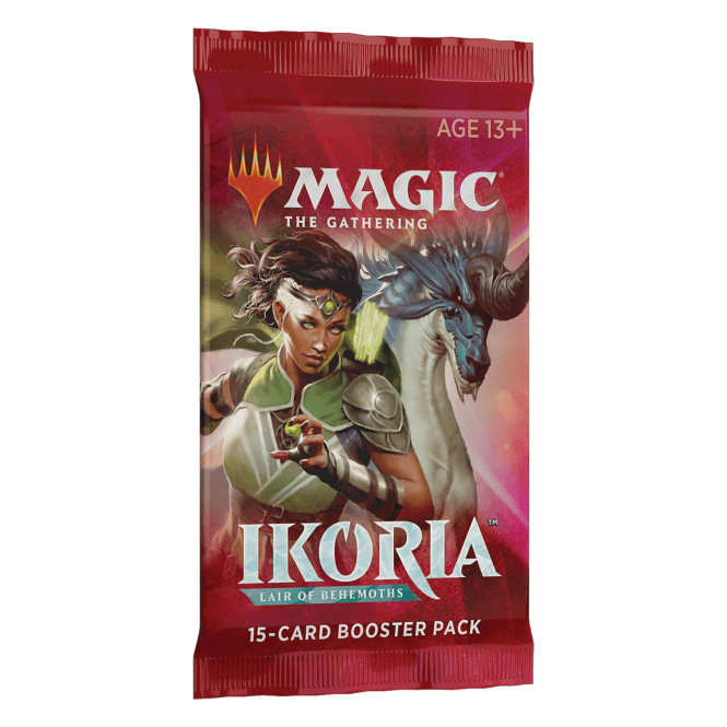 Magic the Gathering CCG: Ikoria - Lair of Behemoths Booster Packs (10 Packs with Free Shipping)