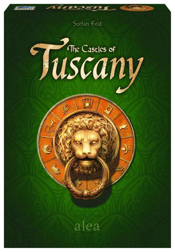 The Castles of Tuscany from of Box Board Game