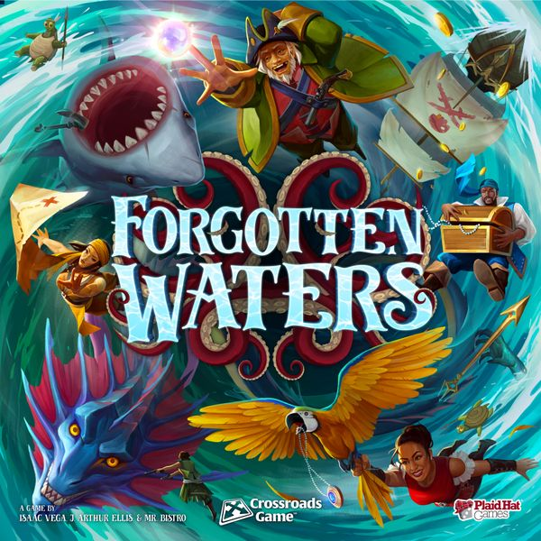 Forgotten Waters (with promo organizer)