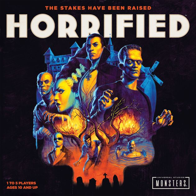 Horrified The Stakes Have Been Raised Universal Studios Monsters Game