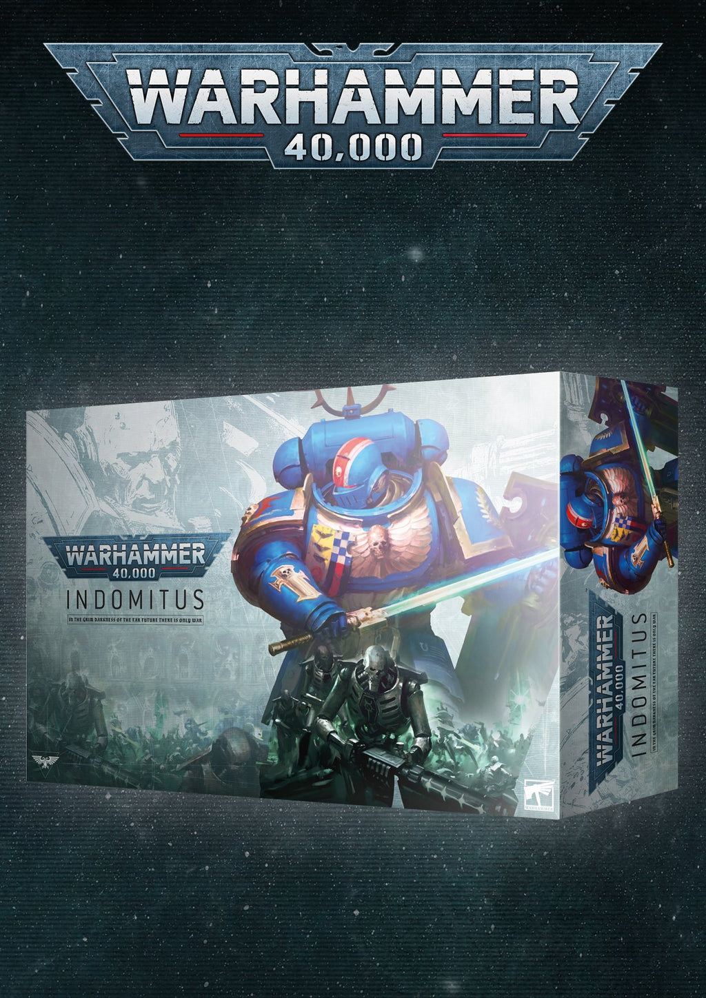 WARHAMMER 40000: INDOMITUS (ENGLISH) (PREORDER, SHIPS TO YOU OR READY FOR PICK-UP on 7/25)