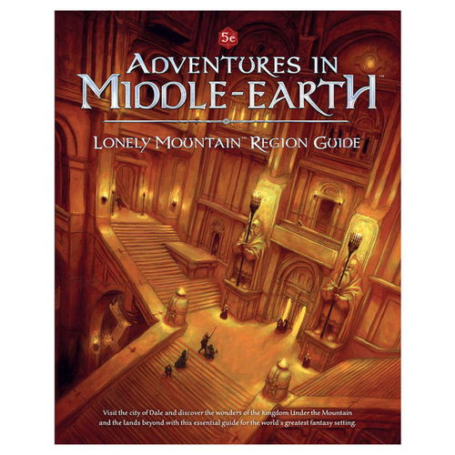 Dungeons and Dragons RPG: Adventures in Middle-Earth - Lonely Mountain Region Guide