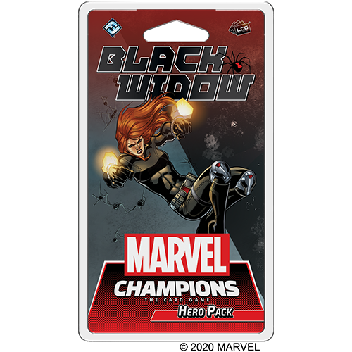 Marvel Champions TCG: Black Widow Hero Pack