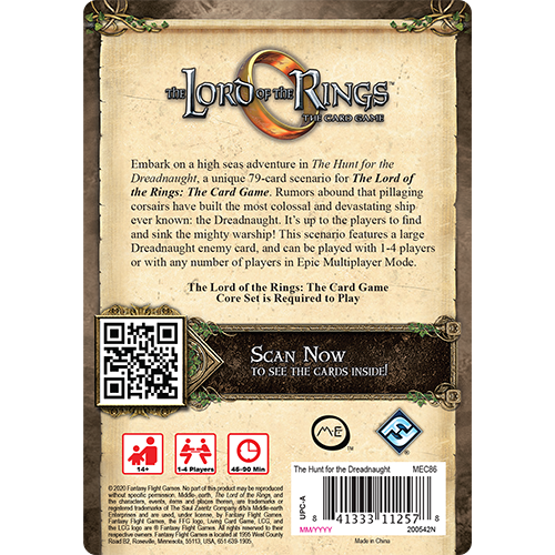 Lord of the Rings LCG: The Hunt for the Dreadnaught