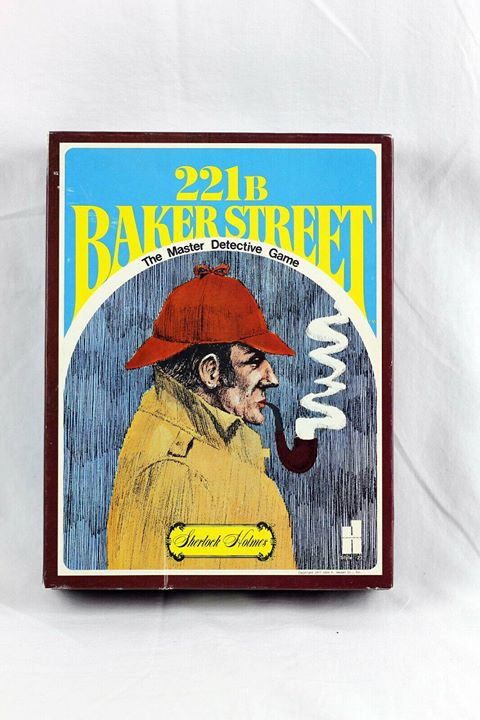 221 B Baker Street The Master Detective Game featuring Sherlock Holmes