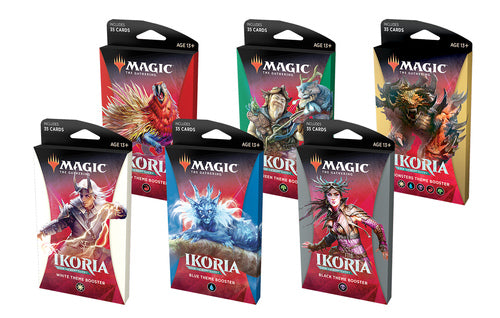 Ikoria: Lair of Behemoths Theme Booster -- Set of 6 (Free Shipping)