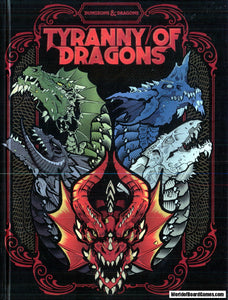 Dungeons and Dragons RPG: Tyranny of Dragons - Hoard of the Dragon Queen Alternate Cover Limited Edition