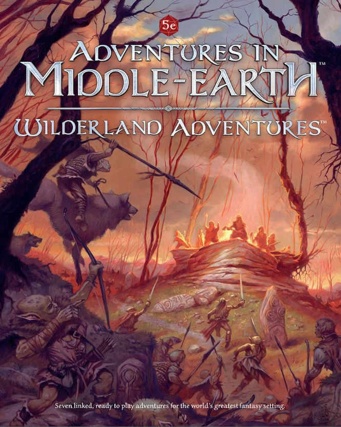 Dungeons and Dragons RPG: Adventures In Middle-Earth - Wilderland Adventures