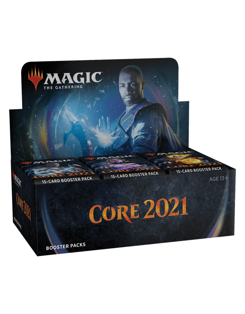 Magic the Gathering CCG: Core 2021 Booster Display (36) with Buy-A-Box Promo Card