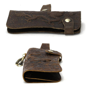 The Crazy Horse - Clutch Wallet W/Chain