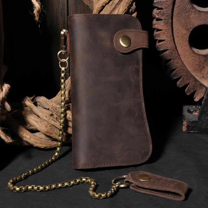 The Buckaro - Clutch Wallet W/Chain