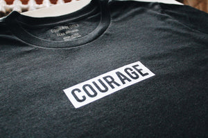 Courage Box Logo T-Shirt