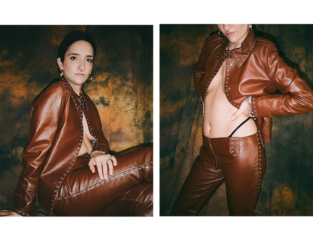 Dolce & Gabbana Leather Suit
