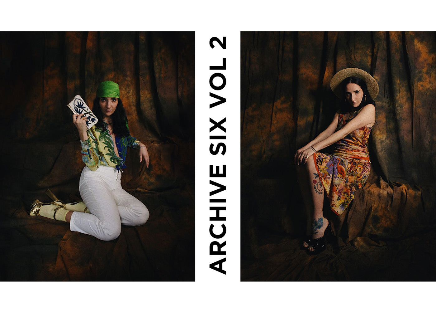 ARCHIVE SIX VINTAGE EDITORIAL