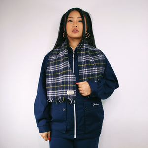 BURBERRY CHECK SCARF-BASEMENT SIX