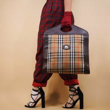 BURBERRY NOVA CHECK TOTE HAND BAG-BASEMENT SIX