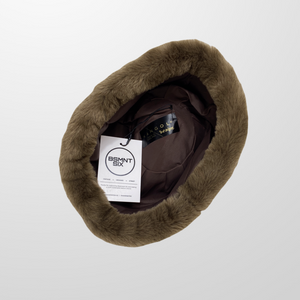 KANGOL FAUX FUR WOOL HAT-BASEMENT SIX