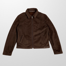 BURBERRY SUEDE BROWN JACKET-BASEMENT SIX