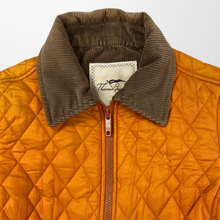 BURBERRY QUILTED ORANGE JACKET-BASEMENT SIX