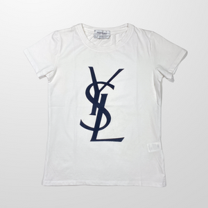 YVES SAINT LAURENT YSL T-SHIRT TOP-BASEMENT SIX