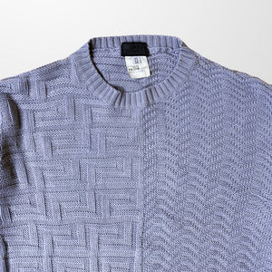VERSACE KNITTED CREW NECK SWEATER JUMPER-BASEMENT SIX