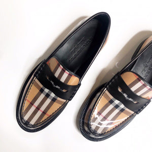 BURBERRY NOVA CHECK LOAFERS-BASEMENT SIX