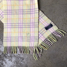 BURBERRY GREEN NOVA CHECK SCARF-BASEMENT SIX