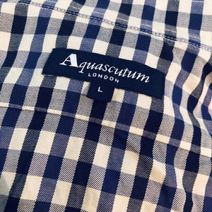 AQUASCUTUM HOUSE CHECK SHIRT-BASEMENT SIX