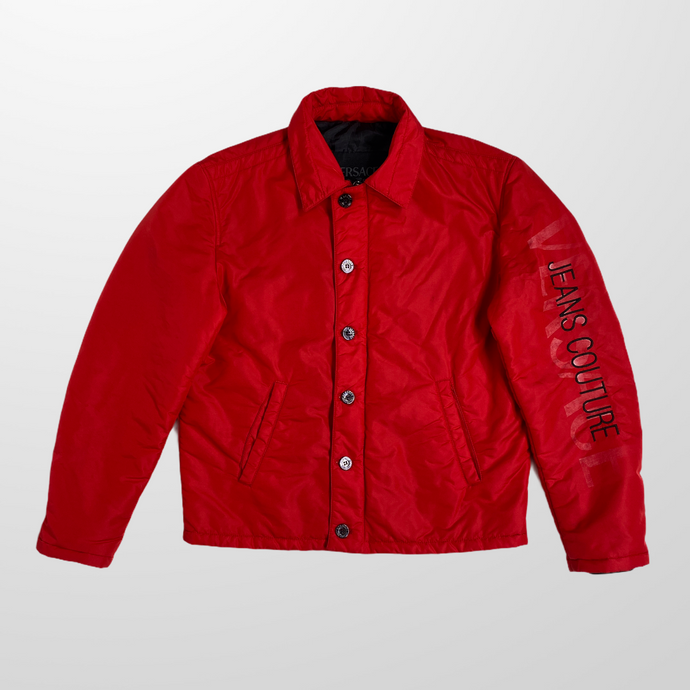 VERSACE COUTURE BOMBER BIG LOGO JACKET-BASEMENT SIX