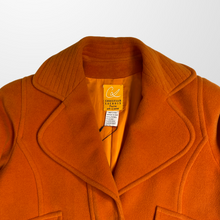 CHRISTIAN LACROIX ORANGE COAT JACKET-BASEMENT SIX