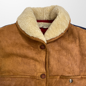 ICEBERG SHEARLING LEATHER JACKET-BASEMENT SIX