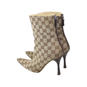 Gucci Monogram GG Ankle Boots-BASEMENT SIX