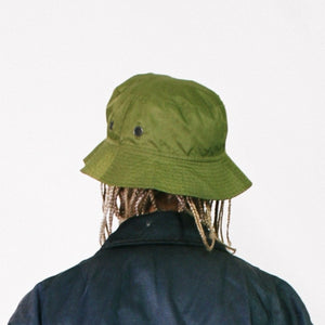 SAINT LAURENT JEANS NYLON BUCKET HAT-BASEMENT SIX
