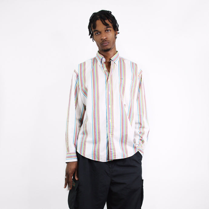 TOMMY HILFIGER ICONIC STRIPED SHIRT-BASEMENT SIX