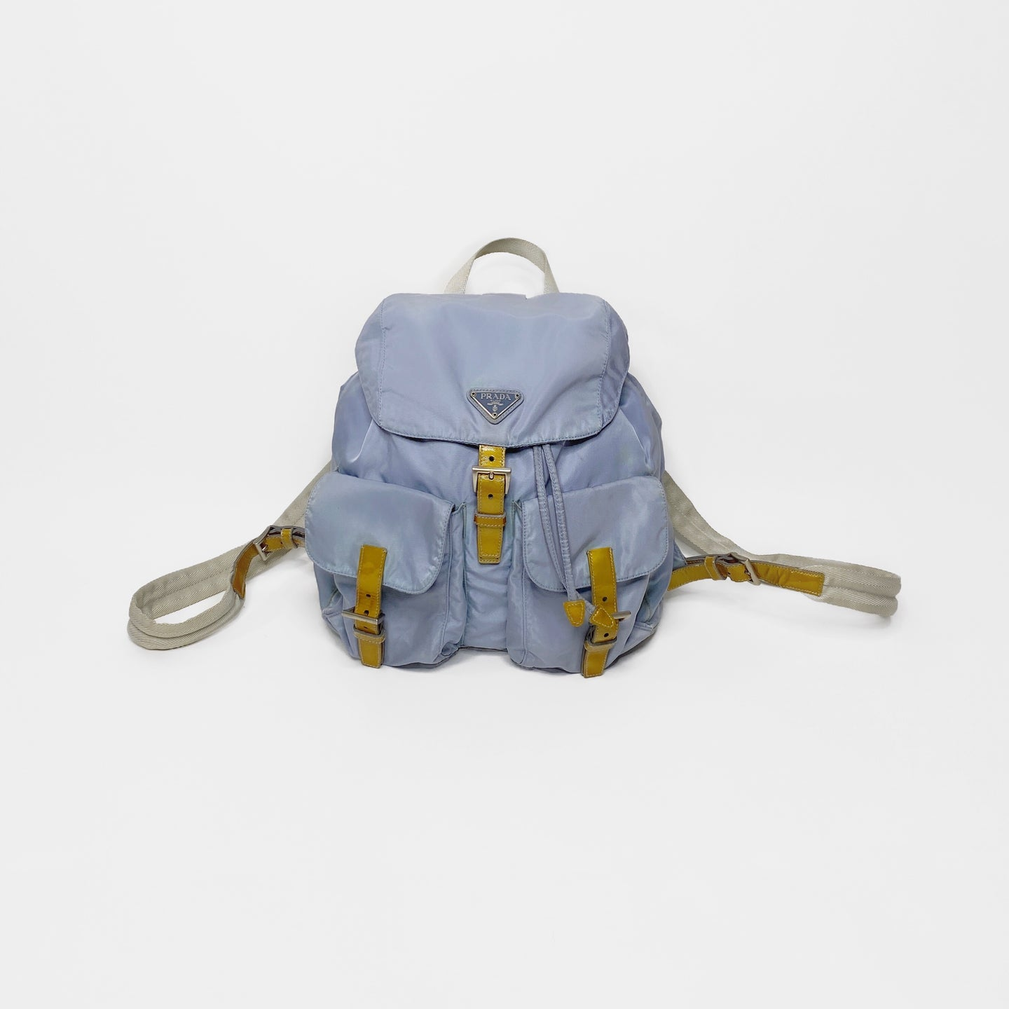PRADA NYLON BACKPACK BAG-BASEMENT SIX